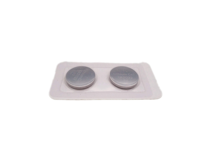 Lithium Button Cell Battery Blister Card