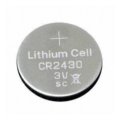 Lithium button cell battery CR2430