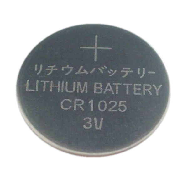 3V CR1025 Lithium Button Cell Battery
